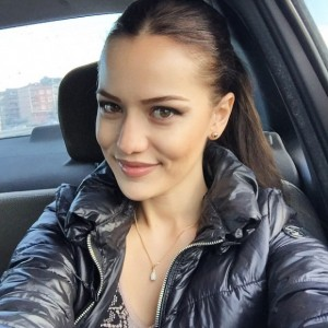 Fahriye evcen selfie resmi