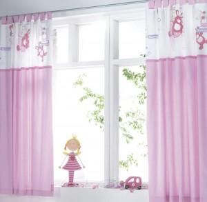 Rustik bebek odası perdeleri - 5