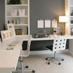 beyaz ev ofisi