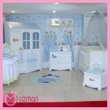 eğlenceli Erkek Bebek Odası Dekorasyonu