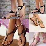 en rahat 2015 Sandalet Modelleri
