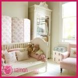 şık Bebek Odası Dekorasyonu