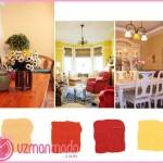 Dekorasyonda renklerin etkisi