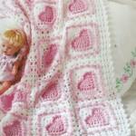 Bebek Battaniyeleri Örgü Modeli 2015