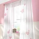 Rustik bebek odası perdeleri - 9