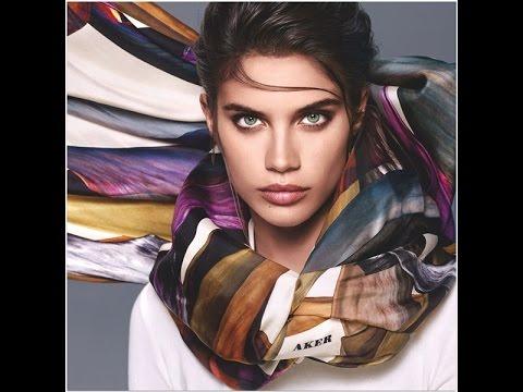 Aker eşarp 2015 2016 sonbahar kış eşarp modelleri