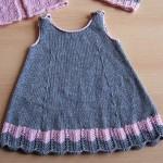 Örgü Bebek Elbiseleri el işi şiş tığ ile örülmüş bebek elbise